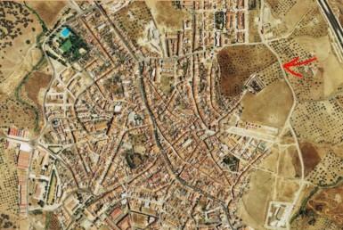 529 OPU Fincas Rústicas SurOeste 385x258 - Solar urbano de 8.500 m2 en el centro de Monesterio (Badajoz), buena inversión.