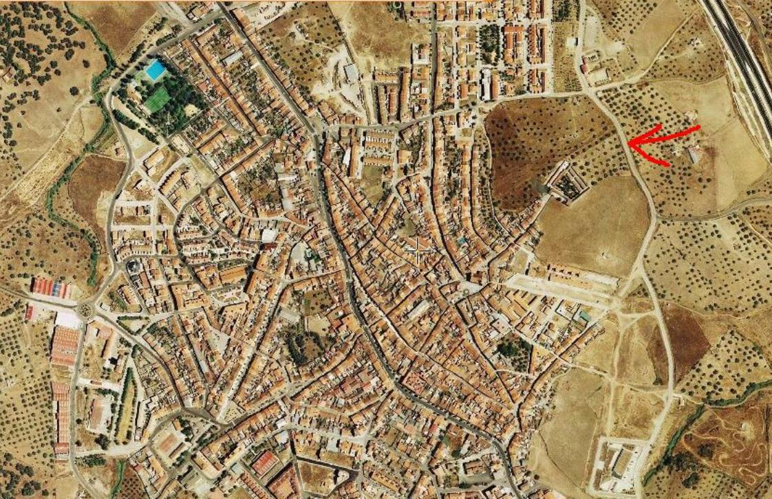 529 OPU Fincas Rústicas SurOeste - Solar urbano de 8.500 m2 en el centro de Monesterio (Badajoz), buena inversión.